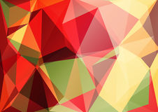 Red yellow background Stock Image