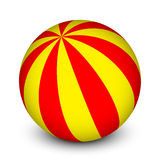 Red and yellow ball Royalty Free Stock Image