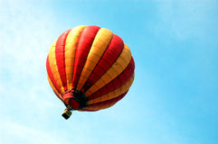 Red and Yellow balloon. Balloon fly to the sky stock images