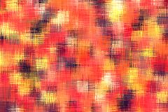 Red yellow and black painting abstract Royalty Free Stock Photography