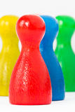 Red, yellow, blue and green Royalty Free Stock Photography