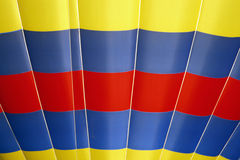 Red, Yellow, Blue Hot Air Balloon Stock Photography