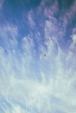 Red Yellow and Blue Kite on the Sky Stock Photos