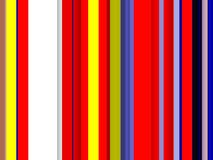 Red yellow blue lines background, abstract colorful geometries royalty free stock photography