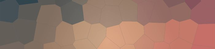 Red, yellow and brown Big Hexagon in banner shape background illustration. Red, yellow and brown Big Hexagon in banner shape background illustration Vector Illustration