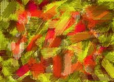 Red yellow and brown painting texture abstract Stock Photography