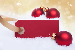 Red Yellow Christmas Background Royalty Free Stock Images