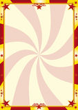 Red and yellow circus background