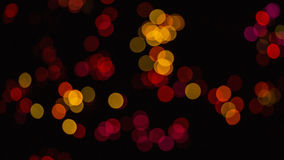 Red and yellow club lights Royalty Free Stock Photography