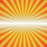 Red-yellow color burst background. Stock Images