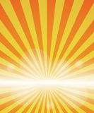 Red-yellow color burst background. Royalty Free Stock Image
