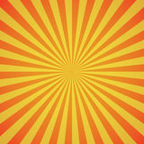 Red-yellow color burst background. Vector illustration Royalty Free Stock Photo