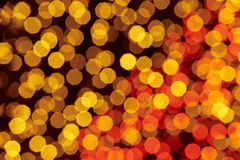 Red and yellow colored lights background. Abstract backdrop. Horizontal format Royalty Free Stock Photos
