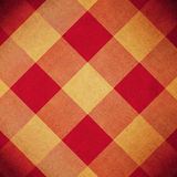 Red and yellow diamond pattern Royalty Free Stock Images