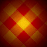 Red and yellow diamond pattern Stock Images