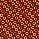 Red and yellow fabric Royalty Free Stock Images