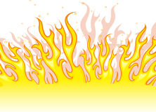 Red and yellow fire Royalty Free Stock Photography