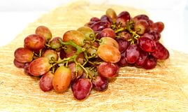 Red yellow grape royalty free stock images