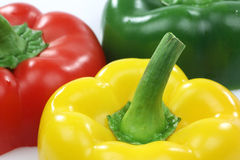 Red, yellow and green pepper Royalty Free Stock Image