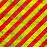 Red yellow grunge hazard royalty free stock image