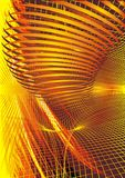 Red and yellow hot background Stock Photo