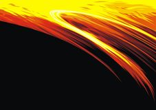Red and yellow hot background Royalty Free Stock Image