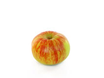 Red yellow isolated apple Royalty Free Stock Photo