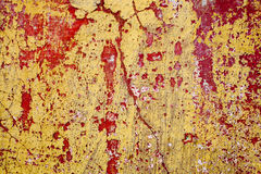 Red and Yellow mortar abstract background Royalty Free Stock Photo