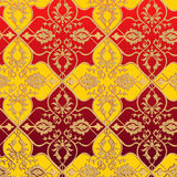 Red and yellow pattern Royalty Free Stock Images