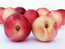 Red and yellow peach Royalty Free Stock Photo