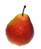 Red-yellow pear Stock Images