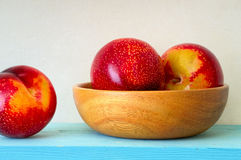 Red and Yellow Plums Royalty Free Stock Photo
