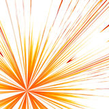 Red and yellow rays Royalty Free Stock Photo