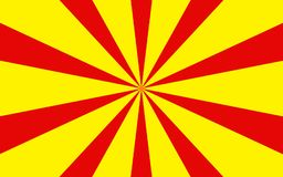 Red yellow rays background image. Red and yellow rays abstract background image.This is a  illustrated image Royalty Free Stock Photo