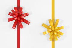 Red and Yellow Ribbon Stock Photos