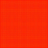 Red and yellow 50s, 60s popart background pattern. Royalty Free Stock Photography