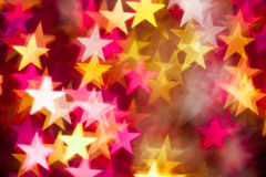 Red and yellow stars Royalty Free Stock Image