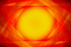 Red and yellow sunshine background Royalty Free Stock Photography