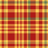 Red and yellow table cloth. Background. Vector illustration Stock Image