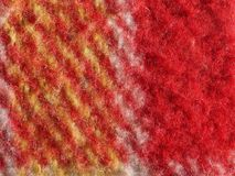 Red fabric texture background Stock Photography