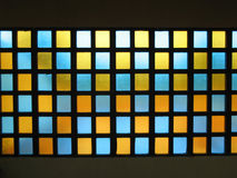 Red an yellow windows Royalty Free Stock Photography