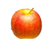 Red-yellowish apple Royalty Free Stock Photography