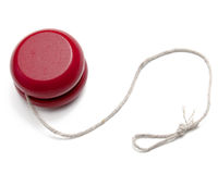 Red Yo-yo Stock Images