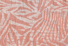 Red Zebra Background Royalty Free Stock Images