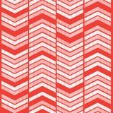 Red Zigzag Graphic Background Stock Photography