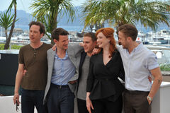 Reda Kateb et Matt Smith et Ian De Caestecker et Christina Hendricks et Ryan Gosling Photos libres de droits