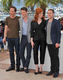 Reda Kateb & Matt Smith & Ian De Caestecker & Christina Hendricks Royalty Free Stock Images