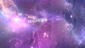 Redacta la electricidad, magnetismo, la óptica Los fondos abstractos, matriz abstracta les gusta el fondo Campo de estrella en es ilustración del vector