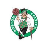 Redactie - Boston Celtics royalty-vrije illustratie
