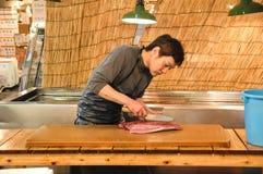 Redactie de Vissenmarkt van Tokyo Stock Fotografie